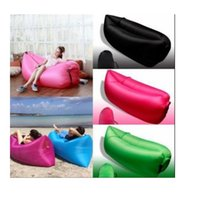 Wholesale Beach Lounger Inflatable Sofa Outdoor Nylon Air Filled Balloon Carry Bag