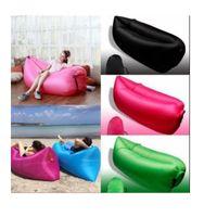 air fill balloons - Beach Lounger Inflatable Sofa Outdoor Nylon Air Filled Balloon Carry Bag