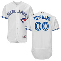 Wholesale Elite Men s baseball jerseys Toronto Blue Jays Majestic Flexbase Authentic Collection Custom Jersey and th Anniversary Patch Custom Jersey