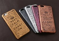 antique apples - 2016 Newest iphone Embossment Antique Case Vintage Phone Back Cover Case For Iphone s s plus Samsung S7 S7 Edge