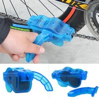 Wholesale Bicycle Chain Cleaner Cycling Bike Flywheel Brush Scrubber Wash Tool Kit Mountaineer Bicycle Chain Cleaner Kits Lubrication Cleaning