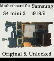 Wholesale Working Unlocked Original Motherboard For Samaung S4 mini2 i9195i Mainboard EU version With Full Chips Logic Board