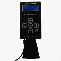 best tattoo supplies - Good Quality Best Price USA Professional Large LCD Dual Digital Black Tattoo Power Supply