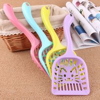 Wholesale Pet supplies The new cat shovel shape cat cat sand shovel hollow out small shovels shit shovel cleaning supplies