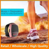 audio digital display - B90 Smart Watch Sports Digital Watch Speakers Hands free FM Radio Anti Lost Portable Bluetooth Music Speaker With LED Display