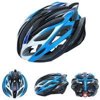 Wholesale 2016 cool new blue white black Capacete Ciclismo Safety Cycling Helmet Head Protect Bicycle Helmet Mountain Road Bike Helmet