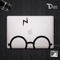 Wholesale glasses macbook stickers macbook skin macbook decal laptop decal Vinyl sticker Air Pro retina