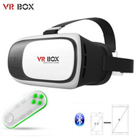 3d movies - VR BOX Google Cardboard Virtual Reality Headset D Glasses IMAX Video Movies Game Glasses For Inch Smartphone Bluetooth Gamepad