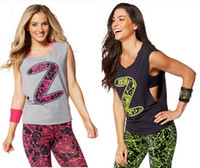 active z - woman yoga tops Inspired By Z Dropped Armhole Tank racerback