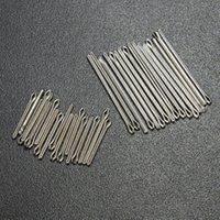 Wholesale Cotter Pins Wholesale - Wholesale-6mm-23mm New Practical 360 pcs Stainless Steel Watch Band Link Cotter Pins Repair Tool Sets 18 Size
