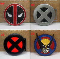 Wholesale Brand New X man Deadpool Belt Buckle Marvel Anti Hero Super Villain Newly Style Fashion Belt Buckle