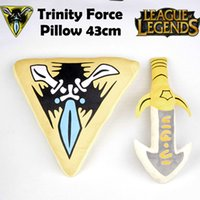 Wholesale LOL Infinity edge plush amp LOL trinity force plush pillow toy Doll LOL plush Doll toy In stock
