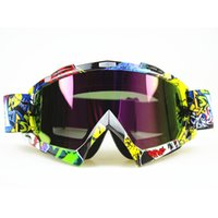 atv goggles fox - Motocross Motorcycle Dirt Bike ATV Glasses Goggles Clear Tinted Lens for KTM FOX Helmet Racing Glasses ATV MX Goggles