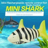 Wholesale 3310 Remote Control Toy Creative CH V Radio Control Water Mini RC Shark