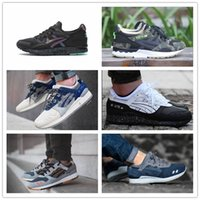 Wholesale Fast shipping gel Running Shoes Men Women Sport Sneakers generation iii v Casual Shoes Outdoor lYTE walking shoes Size US