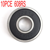 Wholesale 10pcs Skate board Skate shoes Ball bearings D printer accessories RS RS RS inner diameter mm Outer diameter mm thickness m