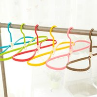 Wholesale 30Pieces Multi purpose washing clothes rack Rotating dual stereo plastic non slip hangers home clothing storage racks
