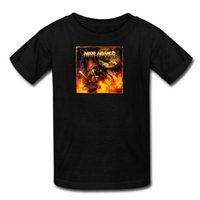 amon amarth shirt - Brand New Men s Versus the World Amon Amarth Theme Short Sleeve T Shirt Cotton Classic Style Shirt