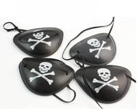 Wholesale Cyclops Eye Patch - pirate eye patch 100pcs Halloween masquerade pirate accessories Cyclops eye patch