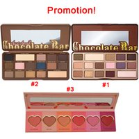 bars size - Shipping in hours Promotional Chocolate Bar Semi Sweet Eyeshadow Palette Colors Eye Shadow Good Quality