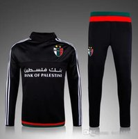 Wholesale Discount Price Survetement Football Tracksuit Palestine Soccer Training Suits Chandal Palestine Jogging Pant Soccer Track Suit