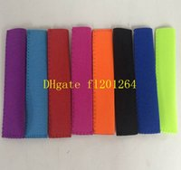 Wholesale 100pcs Newest Hote sale Popsicle Holders Pop Ice Sleeves Freezer Pop Holders x4cm