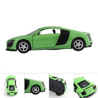 Wholesale Model Toy Best Gift SCL Sports Car Alloy Static Die Cast collection Sound Light Toy Cars