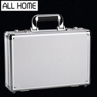 Wholesale Aluminum toolbox Thicken Interlocking High grade metal Storage box meter Display Aluminum toolbox