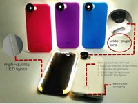Wholesale DHL Free LED Light Up Your Face Selfie Phone Case Led phone case for iPhone s Luminous Phone Cover With Fish Eye Lens
