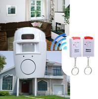 оптовых home alarm system-Системы охранной сигнализации ИК Инфракрасный датчик безопасности детектор Главная Система 2 Пульт дистанционного управления беспроводной сигнализации датчик движения Безопасность Детектор Новый