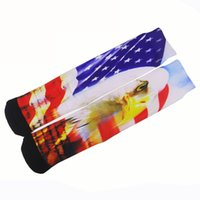 american eagles basketball - Harajuku D digital printing cylinder movement in men s Basketball Hobby terry socks explosion custom