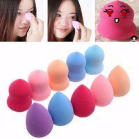 Wholesale 10pcs Pro Beauty Flawless Makeup Blender Foundation Puff Multi Shape Sponges