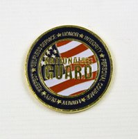 Wholesale Cheap Engraving Gifts - Commemorative double sided stamping engraving zinc alloy pad printing gold silver metal cheap custom us bit challenge coin