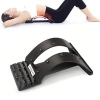 Wholesale Back Magic Waist Relax Stretcher Multi Level Back Stretching Device Back Massager Stretcher Fitness Equipment
