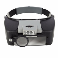 Wholesale Beileishi Magnifying Glass With Led Lights x x x x Head Mounted Magnification Loupes