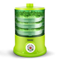 Wholesale Connie CB A323B Automatic Intelligence PTC Bean Sprouts Machine Layer One touch Green Vegetable Seeds Growing Equipment