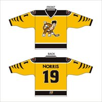 Wholesale Custom pattern Numbering logo Hockey Jerseys new StanCaleb hockey clothing hockey puck Uniforms men and women Ice Hockey Wear