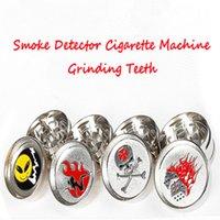 aluminium grinding - 52mm Grinders for tobcco herb Crushing Equipment Cigarette Machine Layers Aluminium Alloy Grinding teeth Crusher Grinders
