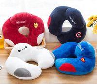 Wholesale Cartoon U pillow neck pillow cervical pillow pillow neck support office nap travel drive U shaped pillow