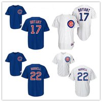 Wholesale Cubs Kris Bryant Baseball Jerseys New Arrival Authentic Cool Base Baseball Wears Cheapest Baseball Apparel Chicago Baseball Jerseys