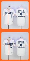 bail bonds - 2016 New Men s Bears Chicos Bail Bonds White jerseys Top Quality Drop Shipping Mixed orders