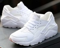 big kids sneakers - Top Quality Air Huarache Shoes Unisex big Kids Men Women All Black Air Running Shoes Huaraches Casual Shoes Sneakers Trainer Athletics Shoes