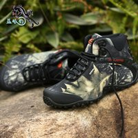 ankle lace up combat boots - Waterproof Men Ankle Hiking Boots For Men s Military Tactical Army Combat Shoes Walking Outdoor Sneakers Size Lace up Flats