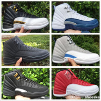 Cheap Wholesale 2016 Retro 12 Basketball Shoes Men Cheap XII Boots High Quality For Sale Sneakers 2016 New Online Sport Shoes Free Drop ShippingW