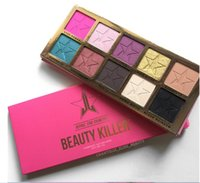 Wholesale New arrival Five Star Beauty Killer Eyeshadow Palette Colors Eye Shadow Makeup Cosmetics Highlight DHL