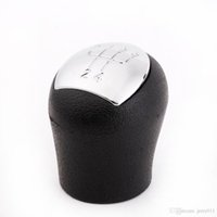 Wholesale New Speed Gear Knob Shift Head for Renault Clio Kangoo Car Styling Inteiror Accessories Rubber and Plastic