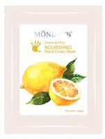 Wholesale Elitzia Soft Smooth Brighten skin Shrink pore Lemon Mint Hand Cream Mask for uneven skin