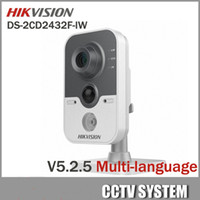 Wholesale Hikvision DS CD2442F IW MP Indoor IR Wifi Cube Camera mm