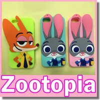 animal cops - Zootopia Cute Cartoon D Rabbit Cop Police Judy Hopps Soft Silicone Case Cover for Iphone s Plus s Crazy Animals