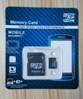 Wholesale New arrived Memory Card GB GB GB GB no brand Micr SD Card MicroSD TF C10 Flash SDHC SD Adapter SDXC Retail Package moq